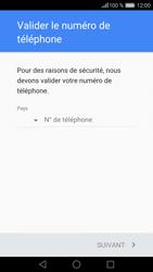 Huawei Honor 5X - Applications - Créer un compte - Étape 6