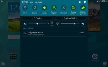 Samsung T805 Galaxy Tab S - Internet - Automatisch instellen - Stap 4