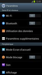 Samsung Galaxy S III - WiFi - Configuration du WiFi - Étape 4