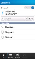 BlackBerry Z10 - Bluetooth - Collegamento dei dispositivi - Fase 7