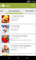 Sony Xperia E1 - Apps - Herunterladen - 0 / 0