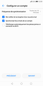 Huawei Mate 10 Pro - E-mail - 032c. Email wizard - Outlook - Étape 7