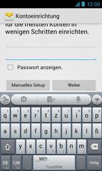 ZTE Blade III - E-Mail - Manuelle Konfiguration - Schritt 6