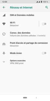 Crosscall Core X4 - Internet et connexion - Accéder au réseau Wi-Fi - Étape 5