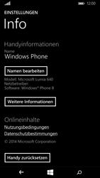 Microsoft Lumia 640 - Fehlerbehebung - Handy zurücksetzen - Schritt 7