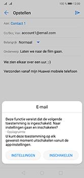 Huawei P20 Lite Dual-SIM (Model ANE-LX1) - E-mail - Hoe te versturen - Stap 11