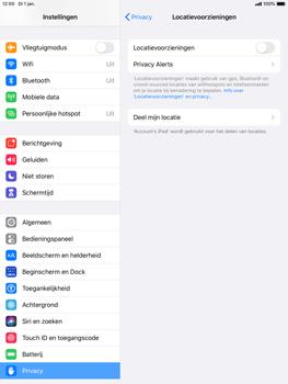 Apple ipad-pro-9-7-ipados-13 - Beveiliging en ouderlijk toezicht - Zoek mijn iPad inschakelen - Stap 5