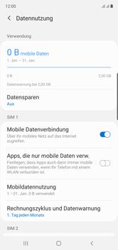 Samsung Galaxy Note 10 - Internet und Datenroaming - Manuelle Konfiguration - Schritt 6