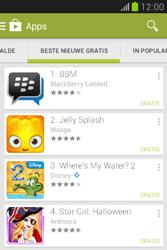 Samsung S6790 Galaxy Fame Lite - apps - app store gebruiken - stap 11