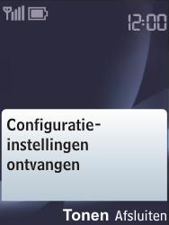 Nokia 6303 classic - MMS - automatisch instellen - Stap 5
