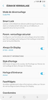 Samsung Galaxy Note 9 - Sécuriser votre mobile - Activer le code de verrouillage - Étape 12