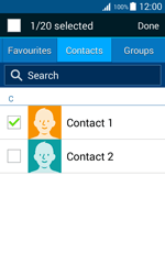 Samsung J100H Galaxy J1 - MMS - Sending pictures - Step 7