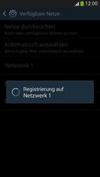 Samsung Galaxy S 4 Active - Netzwerk - Manuelle Netzwerkwahl - Schritt 9