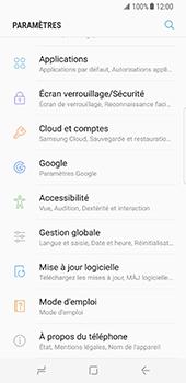 Samsung Galaxy S8 - Logiciels - Installation de mises à jour - Étape 5
