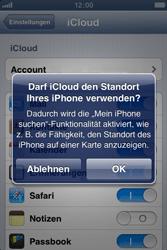 Apple iPhone 3GS - Apps - Konfigurieren des Apple iCloud-Dienstes - Schritt 7