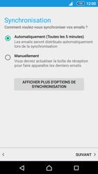 Sony Xperia Z5 Compact - E-mails - Ajouter ou modifier un compte e-mail - Étape 17