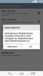 LG G3 - Internet und Datenroaming - Prüfen, ob Datenkonnektivität aktiviert ist - Schritt 7