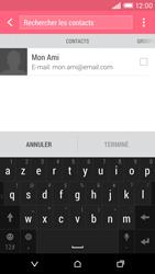 HTC Desire EYE - E-mail - Envoi d