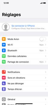 Apple iPhone XS - Données - Créer une sauvegarde avec votre compte - Étape 3