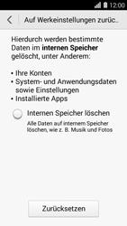 Huawei Ascend Y550 - Fehlerbehebung - Handy zurücksetzen - Schritt 7