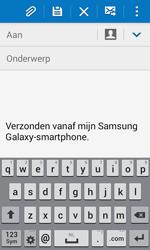 Samsung G357 Galaxy Ace 4 - E-mail - E-mails verzenden - Stap 5