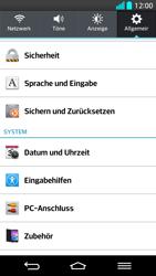 LG G2 - Fehlerbehebung - Handy zurücksetzen - Schritt 7