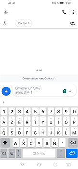 Huawei Y6 (2019) - Contact, Appels, SMS/MMS - Envoyer un SMS - Étape 8