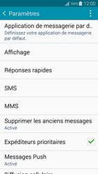 Samsung A500FU Galaxy A5 - SMS - Configuration manuelle - Étape 6