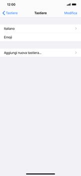 Apple iPhone 11 Pro Max - Operazioni iniziali - Come aggiungere una lingua alla tastiera - Fase 6