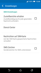 HTC One A9 - SMS - Manuelle Konfiguration - 9 / 11