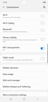 Samsung Galaxy Note 10 Plus 5G - Internet and data roaming - How to check if data-connectivity is enabled - Step 5
