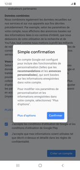 Samsung Galaxy Note 10+ - Applications - Créer un compte - Étape 16