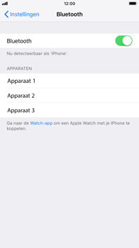 Apple iPhone 6 Plus - iOS 12 - Bluetooth - koppelen met ander apparaat - Stap 7
