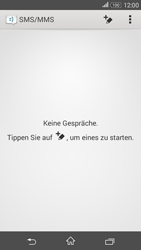 Sony Xperia E4G - MMS - Erstellen und senden - 2 / 2
