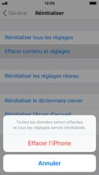 Apple iPhone 5s - iOS 11 - Téléphone mobile - Réinitialisation de la configuration d