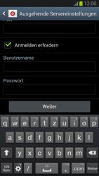 Samsung Galaxy S III - OS 4-1 JB - E-Mail - Konto einrichten - 0 / 0