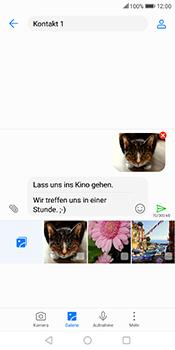 Huawei Mate 10 Lite - MMS - Erstellen und senden - 0 / 0