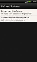 HTC Desire X - Réseau - Sélection manuelle du réseau - Étape 11