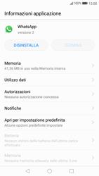 Huawei P10 - Applicazioni - Come disinstallare un
