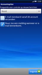 Sony Xperia X10 - E-mail - Handmatig instellen - Stap 10