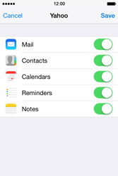 Apple iPhone 4S iOS 7 - E-mail - 032b. Email wizard - Yahoo - Step 10