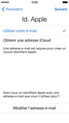 Apple iPhone 5 - Premiers pas - Créer un compte - Étape 14