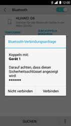 Huawei Ascend G6 - Bluetooth - Geräte koppeln - Schritt 9