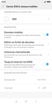 Xiaomi Redmi 5 - Internet - Configuration manuelle - Étape 5
