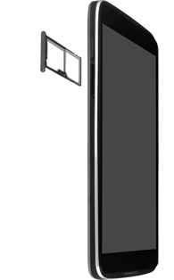 "Alcatel Idol 3 - 4.7"" - SIM-Karte - Einlegen - 2 / 2"