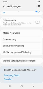 Samsung Galaxy S9 - Android Pie - WiFi - So aktivieren Sie einen WLAN-Hotspot - Schritt 5