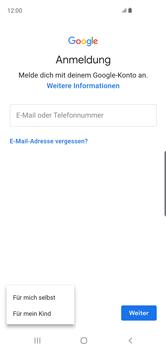 Samsung Galaxy S10 - Apps - Konto anlegen und einrichten - 6 / 22