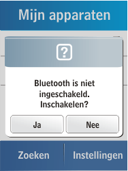 Samsung C3300K - Bluetooth - headset, carkit verbinding - Stap 5