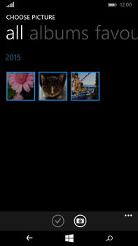 Microsoft Lumia 640 XL - MMS - Sending pictures - Step 9