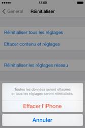 Apple iPhone 4 - Aller plus loin - Restaurer les paramètres d'usines - Étape 6